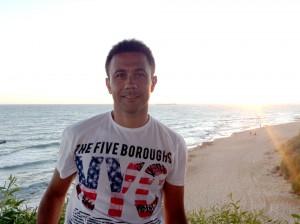 Ricardo Otero en Cadiz