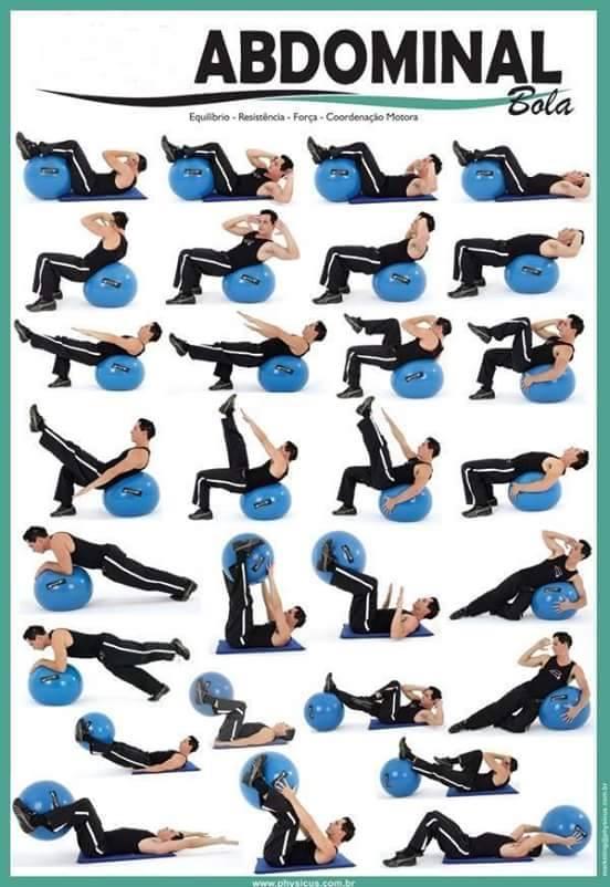 tira de ejercicios abdominales
