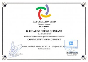 Diploma Community Manager