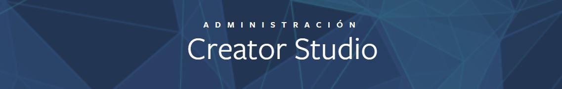 administracion creator studio