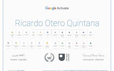 Adquiere nuevas habilidades con Google Actívate