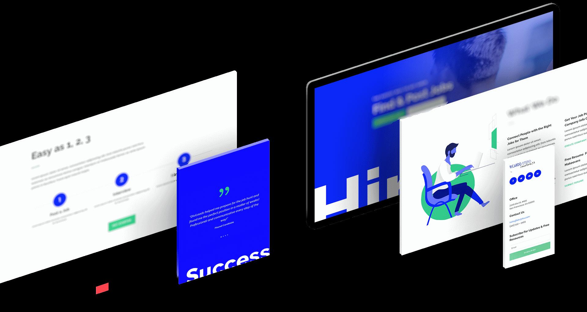 diseño web ricardo otero imagen