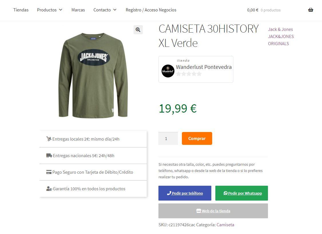 comprar en galicia descripcion productos