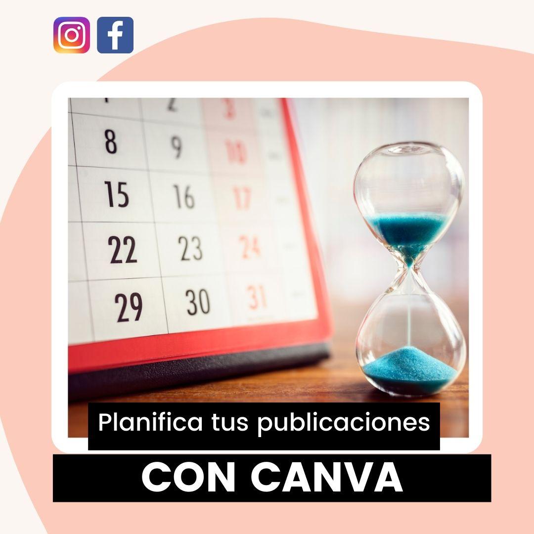 Planifica tus publicaciones con Canva