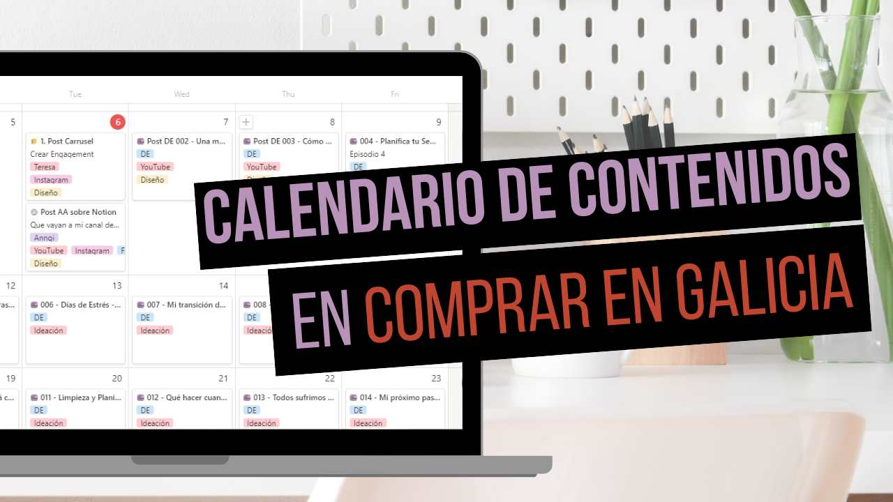calendario de contenidos en redes sociales para empresas
